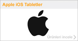 Apple /iOS Tabletler